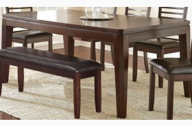 Allison Espresso Extendable Rectangular Dining Table