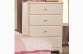 Ashton White 4 Drawer Chest