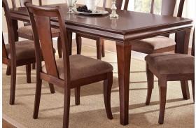 Aubrey Medium Brown Extendable Rectangular Dining Table