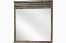 Avondale Charcoal Mirror