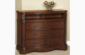 Belle Meade Courtyard Cherry 6 Drawer HD Chest