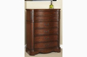 Belle Meade Courtyard Cherry 6 Drawer Chest
