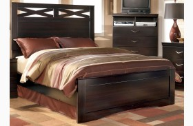 X-cess Queen Panel Bed