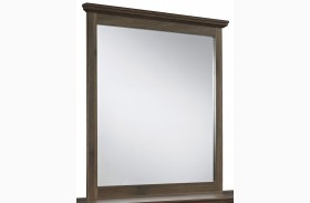 Burminson Brown Bedroom Mirror