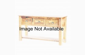 Barnwood 3 Drawers Enclosed Coffee Table With Hickory Legs