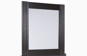 Tadlyn Dark Brown Bedroom Mirror