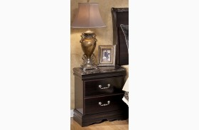Esmarelda Two Drawer Nightstand