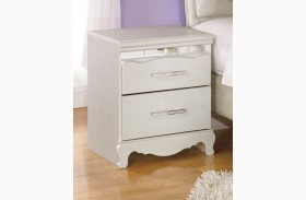 Zarollina Two Drawer Nightstand