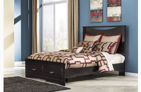 Zanbury Queen Panel Storage Bed