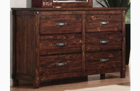Noble Rustic Oak Dresser
