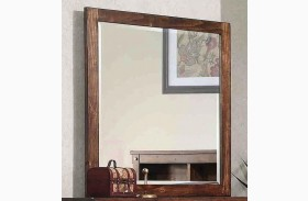 Noble Rustic Oak Mirror