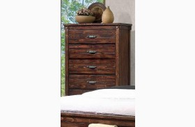 Noble Rustic Oak Chest