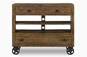 River Ridge Casters Media Chest