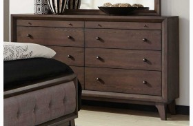 Bingham Brown Oak Dresser