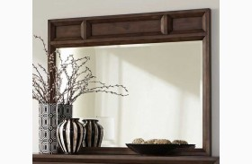Bingham Brown Oak Mirror