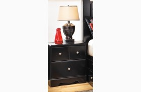 Shay Two Drawer Nightstand