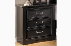 Cavallino 3 Drawer Nightstand