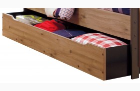 Dexifield Trundle Under Bed Storage with Slat Roll