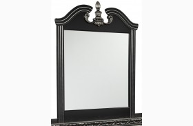 Navoni Black Bedroom Mirror
