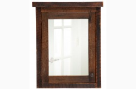 Barnwood Left Hinged Large Medicine Cabinet