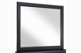 Fancee Black Bedroom Mirror