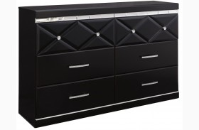 Fancee Black Dresser