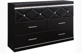 Fancee Black Dresser