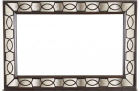 Gramercy Sable Wood Landscape Mirror