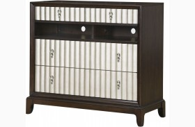 Gramercy Sable Wood Media Chest