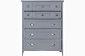 Graylyn Steel Drum Wood Drawer Chest