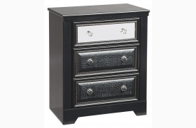 Alamadyre Three Drawer Nightstand