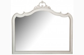 Davenport Weathered Parchment Shaped Mirror