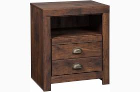 Hammerstead Brown 1 Drawer Nightstand