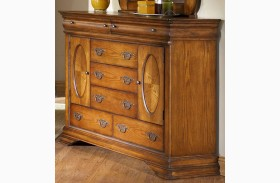 Shenandoah American Oak 7 Drawer Bureau