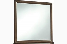 Debeaux Medium Brown Bedroom Mirror