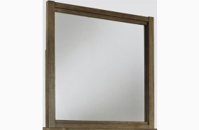 Fennison Light Brown Bedroom Mirror