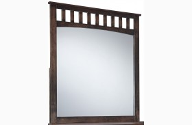 Strenton Brown Bedroom Mirror
