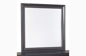 Braflin Black Bedroom Mirror