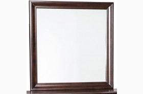 Evanburg Brown Bedroom Mirror