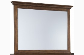 Chaddinfield Brown Bedroom Mirror