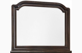 Gerlane Dark Brown Bedroom Mirror