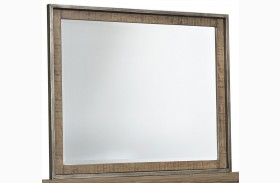 Dondie Warm Brown Bedroom Mirror