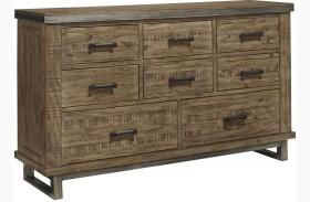 Dondie Warm Brown Dresser