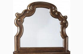 Florentown Dark Brown Bedroom Mirror
