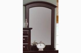 Hamilton/Franklin Merlot Vanity Mirror