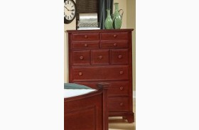 Hamilton/Franklin Cherry 5 Drawer Chest