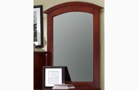 Hamilton/Franklin Cherry Vanity Mirror