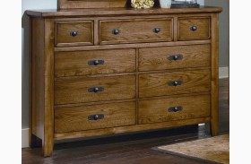 Timber Mill Oak 9 Drawer Chesser