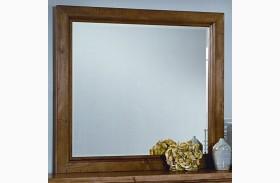 Timber Mill Oak Landscape Mirror