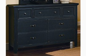 Timber Mill Charcoal 7 Drawer Dresser